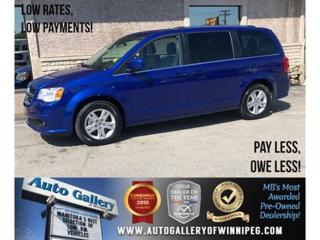 Used 2018 Dodge Grand Caravan Crew Plus *Navi/B.tooth/Back.Cam/Power Doors for sale in Winnipeg, MB