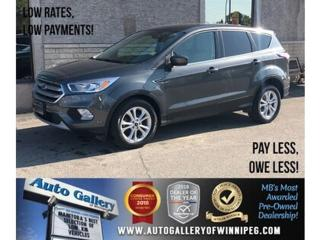 Used 2017 Ford Escape SE *Htd Seats/B.tooth/Back.Cam for sale in Winnipeg, MB