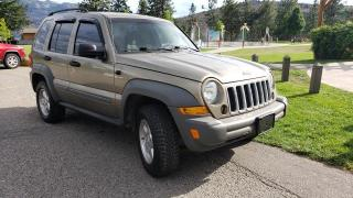 Used 2005 Jeep Liberty sport 4wd for sale in West Kelowna, BC