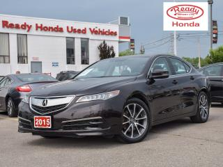 Used 2015 Acura TLX V6 Tech - Navigation - Leather - Sunroof for sale in Mississauga, ON
