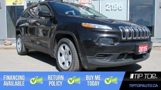 Used 2015 Jeep Cherokee Sport ** Heated Steering Wheel, Remote Start, Blue for sale in Bowmanville, ON