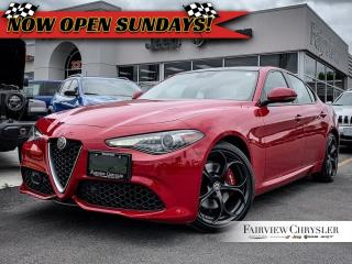 Used 2018 Alfa Romeo Giulia Ti l HARMAN/KARDON l DUAL PANE ROOF l BLINDSPOT l for sale in Burlington, ON