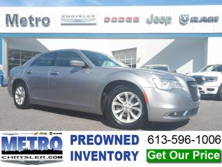 Used 2018 Chrysler 300 Touring - Fully Loaded for sale in Ottawa, ON