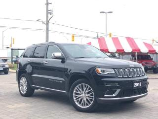 Used 2018 Jeep Grand Cherokee Summit**4X4**NAV**Leather**1 Owner**Panroof** for sale in Mississauga, ON