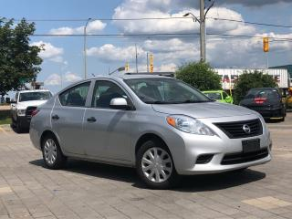 Used 2013 Nissan Versa 1.6 S for sale in Mississauga, ON