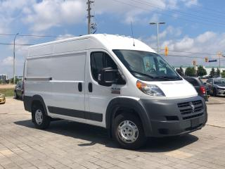 Used 2018 RAM 2500 ProMaster 2500**High Roof**136 W/B** for sale in Mississauga, ON