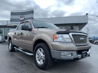 Used 2004 Ford F-150 Lariat 4WD 5.4L V8 Fully Loaded Only 161KM for sale in Langley, BC