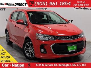 Used 2018 Chevrolet Sonic LT RS| SUNROOF| BACK UP CAMERA| for sale in Burlington, ON