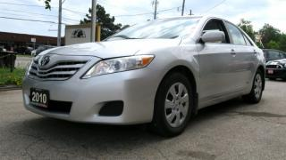 Used 2010 Toyota Camry 4DR SDN I4 for sale in Oakville, ON