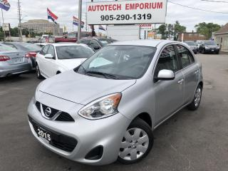 Used 2015 Nissan Micra SV Convenience Camera/Btooth&GPS*$35/wkly for sale in Mississauga, ON