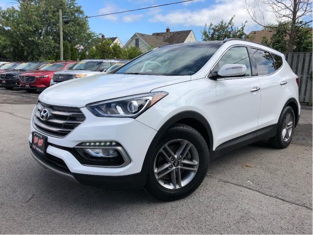 2018 Hyundai Santa Fe Sport 2.4 Luxury| Leather| Panoroof | AWD| Bluetooth