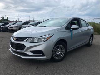 Used 2016 Chevrolet Cruze LS | Low Kms| Alloys| Bluetooth| B/Up Camera| for sale in St Catharines, ON