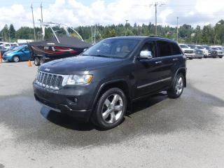 Used 2011 Jeep Grand Cherokee Overland 4WD for sale in Burnaby, BC