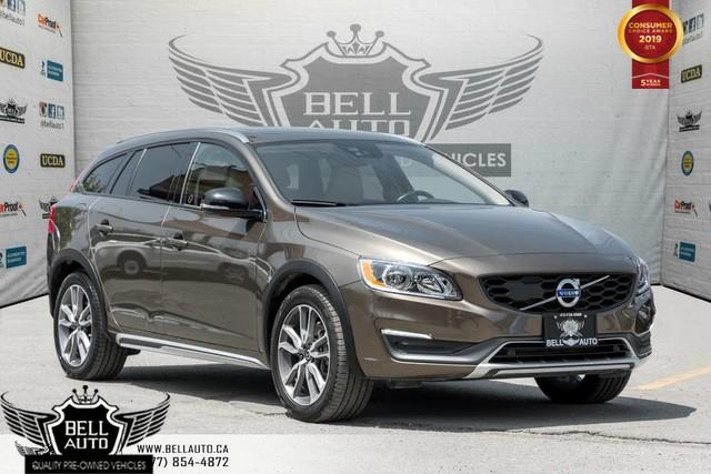 2016 Volvo V60 Cross Country T5 Premier, AWD, NAVI, BACK-UP CAM, SUNROOF