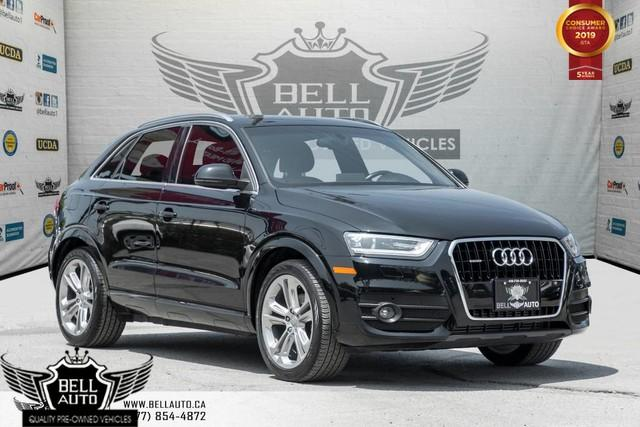 2015 Audi Q3 Technik, AWD, NAVI, BLIND SPOT, BACK-UP CAM, PANO ROOF, SENSORS