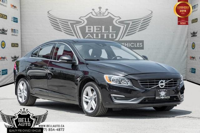 2015 Volvo S60 T5 Premier Plus, AWD, BACK-UP CAM, SUNROOF, BLINDSPOT