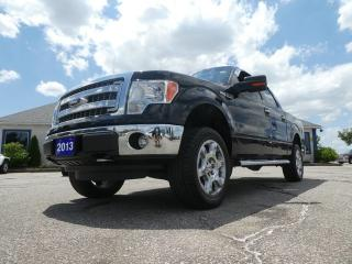 Used 2013 Ford F-150 XTR- 5.0L- 4X4- CREW CAB- LEVEL KIT- EXHAUST- TONNEAU COVER for sale in Essex, ON