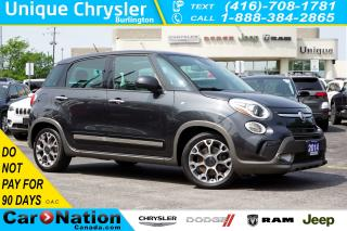 Used 2014 Fiat 500 L TREKKING| NAV-READY| PANORAMIC SUNROOF & MORE for sale in Burlington, ON