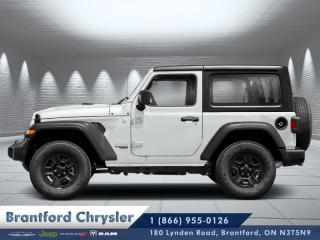 New 2019 Jeep Wrangler Sport S  - Uconnect - $294.31 B/W for sale in Brantford, ON