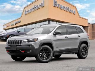 New 2019 Jeep Cherokee Trailhawk Elite  - Navigation - $270 B/W for sale in Brantford, ON