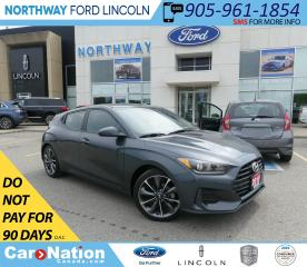 Used 2019 Hyundai Veloster GL | HTD SEATS+WHEEL | BACKUP CAM | SPORT MODE | for sale in Brantford, ON