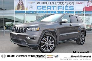 Used 2018 Jeep Grand Cherokee LIMITE * TOIT * CAMRA * 4X4 * APPLE CARPLAY *V for sale in St-Léonard, QC