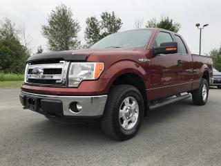 Used 2014 Ford F-150 XLT, 4X4 , SUPER CAB, BTE 6.5P, CAM for sale in Vallée-Jonction, QC