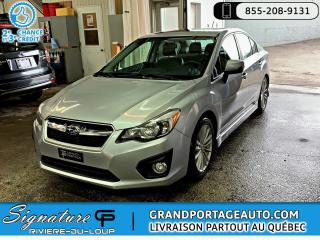 Used 2012 Subaru Impreza Limited CVT Toit Cuir AWD *RARE* *CLEAN* for sale in Rivière-Du-Loup, QC