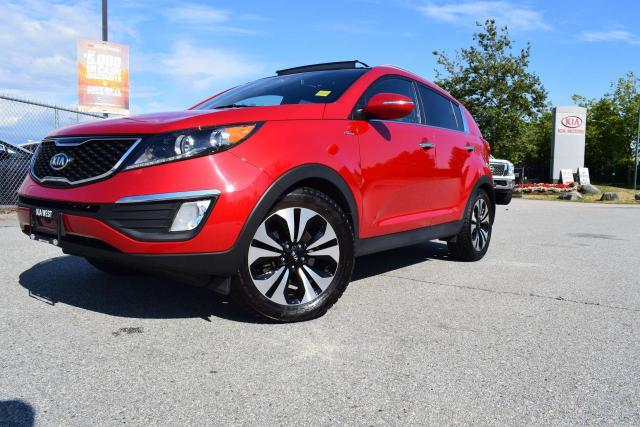 2012 Kia Sportage SX AWD/TURBO/LEATHER/ROOF/HS