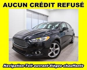 Used 2014 Ford Fusion SE AWD TOIT OUVRANT SIÈGES CHAUFFANTS NAV *BAS KM* for sale in St-Jérôme, QC