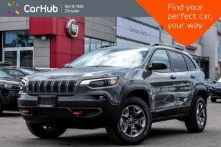 New 2019 Jeep Cherokee Trailhawk|New Car|4x4|Cold.Wthr.Pkg|Bluetooth|Backup.Cam|SiriusXM| for sale in Thornhill, ON