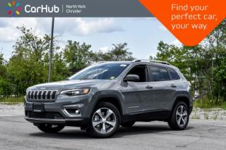 New 2019 Jeep Cherokee Limited|New Car|4x4|Backup.Cam|Bluetooth|Keyless.Go|Voice.Command| for sale in Thornhill, ON