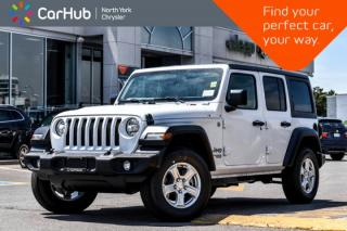 New 2019 Jeep Wrangler Unlimited Sport|New Car|Conve,Cold.Wthr,Tech,Safety.Pkgs|Backup.Cam| for sale in Thornhill, ON