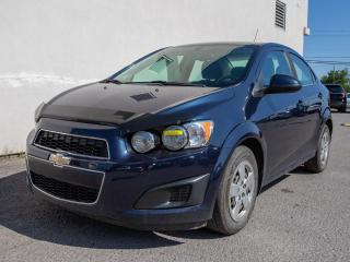 Used 2015 Chevrolet Sonic LT AUTOMATIQUE CAM RECUL SIÈGES CHAUFF *BAS KM* for sale in St-Jérôme, QC