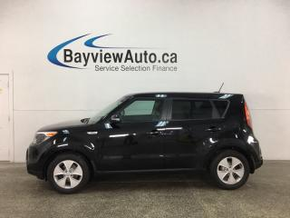 Used 2016 Kia Soul LX+ - 6SPD! ALLOYS! HTD SEATS! PWR GROUP! for sale in Belleville, ON
