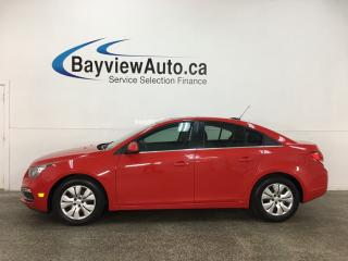 Used 2015 Chevrolet Cruze 1LT - AUTO! SUNROOF! PWR GROUP! BLUETOOTH! REV CAM! + MORE! for sale in Belleville, ON
