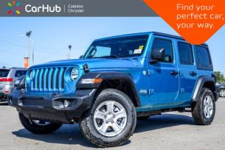New 2019 Jeep Wrangler Unlimited New Car Sport S|4x4|Dual Top|Backup Cam|Bluetooth|Heated Seats|Blind Spot|R-Start|17