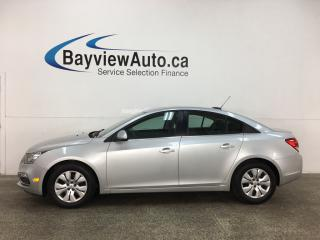 Used 2015 Chevrolet Cruze 1LT - ONLY 40,000KMS! AUTO! A/C! PWR GROUP! BLUETOOTH! for sale in Belleville, ON