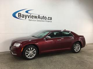 Used 2018 Chrysler 300 Limited - AWD! HTD/COOLED LTHR! NAV! PANOROOF! for sale in Belleville, ON