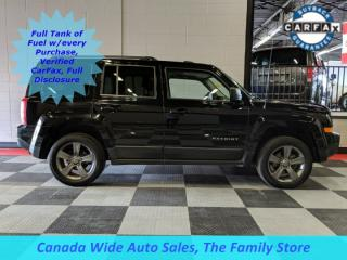 Used 2015 Jeep Patriot 4X4, High Altitude, Leather, Sunroof, Navigation, Back Up Camera for sale in Edmonton, AB