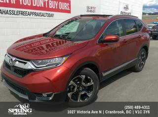 New 2019 Honda CR-V Touring $260 BI-WEEKLY - $0 DOWN for sale in Cranbrook, BC