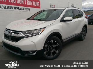 New 2019 Honda CR-V Touring $262 BI-WEEKLY - $0 DOWN for sale in Cranbrook, BC
