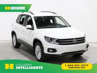 Used 2016 Volkswagen Tiguan édition Sp. 4motion for sale in St-Léonard, QC