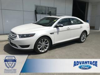 Used 2018 Ford Taurus Limited Remote Start  - Moonroof for sale in Calgary, AB