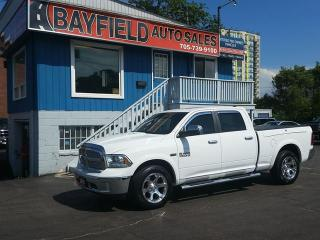 Used 2016 RAM 1500 Laramie Crew Cab 4x4 **Leather/Roof/Navi/RAM Box** for sale in Barrie, ON