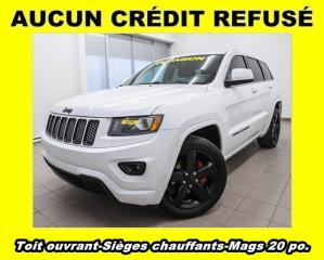 Used 2015 Jeep Grand Cherokee 4x4 Sièges Ch. écran for sale in St-Jérôme, QC