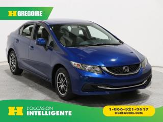 Used 2013 Honda Civic LX A/C MAGS GR for sale in St-Léonard, QC