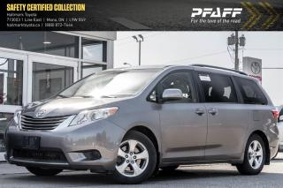Used 2015 Toyota Sienna LE 8 pass V6 6A for sale in Orangeville, ON