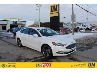 Used 2018 Ford Fusion TITANIUM AWD TOIT 2.0T SIÈGES EN CUIR VENTILÉS for sale in Salaberry-de-Valleyfield, QC