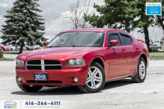 Used 2010 Dodge Charger SXTLeatherHid'sTintSpoiler Certified Clean Carfax for sale in Bolton, ON